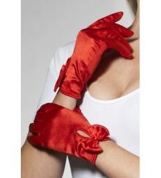 Gloves, Short, Red