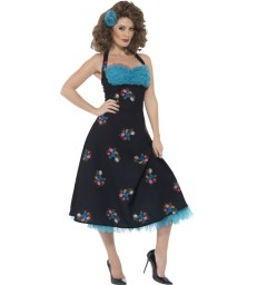Grease Cha Cha DiGregorio Costume, Black
