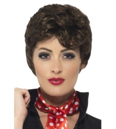 Grease Rizzo Wig, Brown
