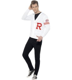 Grease Rydell Prep Costume, White
