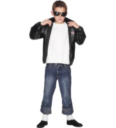 Grease Kids T-Birds Jacket, Black