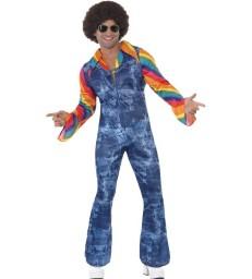 Groovier Dancer Costume, Blue