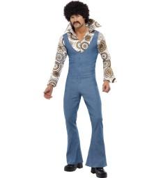 Groovy Dancer Costume, Blue