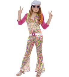 Groovy Glam Costume, Multi-Coloured