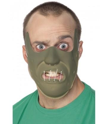 Adult PVC Restraint Horror Mask