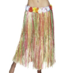 Hawaiian Hula Skirt, Multi-Coloured