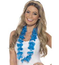 Hawaiian Lei, Neon Blue