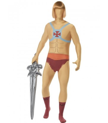 He-Man Second Skin & Inflatable Sword