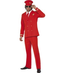 High Flyer Costume, Red