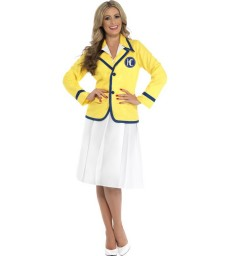 Holiday Rep Female Costume, Yellow
