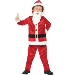 Jolly Santa Costume, Red & White