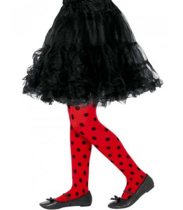 Ladybird Spot Tights, Childs