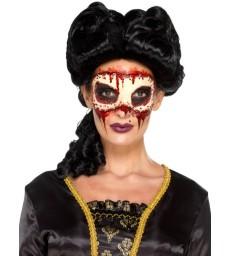 Smiffys Make-Up FX, Masquerade Face Off Prosthetic