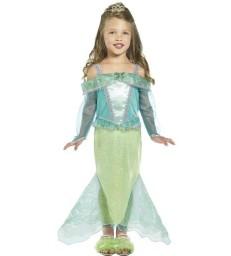 Mermaid Princess Costume, Green