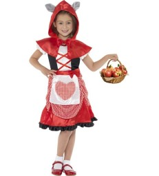 Miss Hood Costume, Red