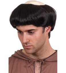 Monk's Wig, Black