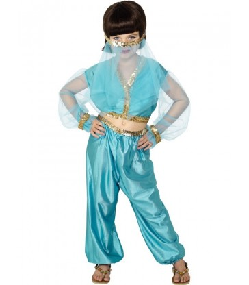 Arabian Princess Costume3