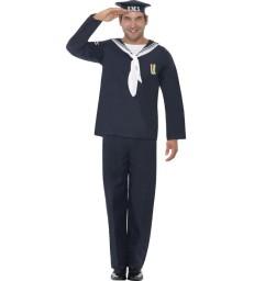 Naval Seaman, Blue