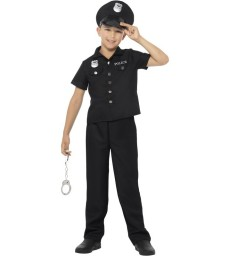 New York Cop Costume, Black