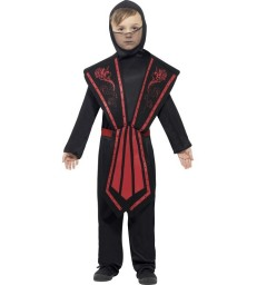 Ninja Costume, Child, Black
