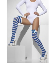 Opaque Hold-Ups, Blue & White