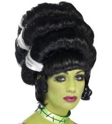 Pin Up Frankie Wig, Black