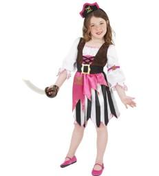 Pirate Girl Costume, Pink