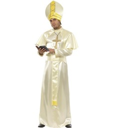 Pope Costume, Cream