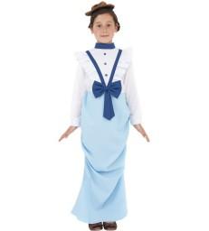 Posh Victorian Costume, Blue