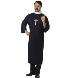 Priest Costume, Black