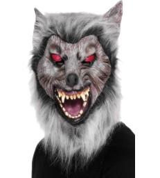 Prowler Wolf Mask, Grey