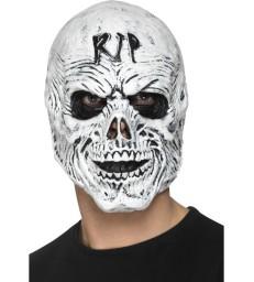 R.I.P Grim Reaper Mask, Foam Latex, White