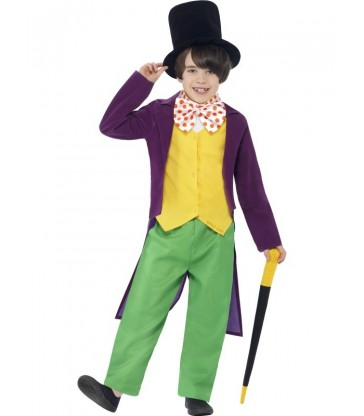 Roald Dahl Willy Wonka Costume