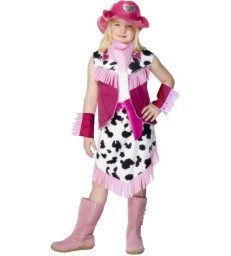 Rodeo Girl Costume, Pink