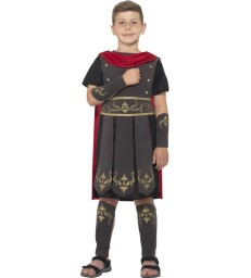 Roman Soldier Costume, Black