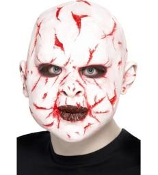 Scar Face Mask, White