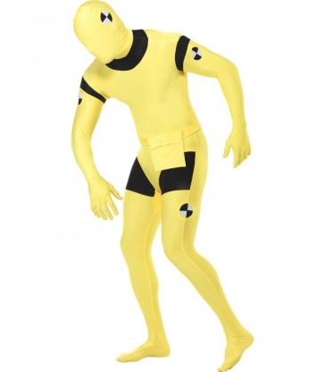 Second Skin Suit, Crash Dummy Costume