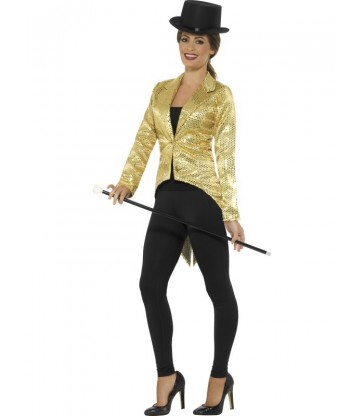 Sequin Tailcoat Jacket, Ladies2