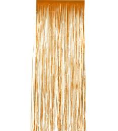 Shimmer Curtain, Orange