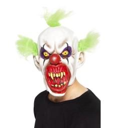 Sinister Clown Mask, White