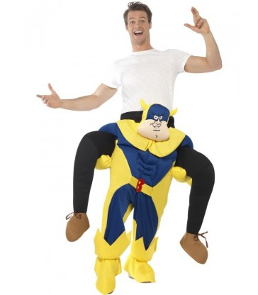 Bananaman Piggy Back Costume