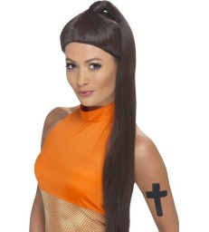 Sporty Power Wig, Brown