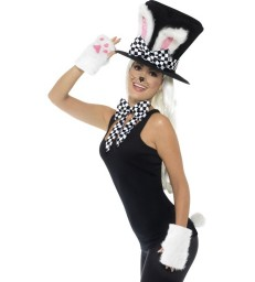 Tea Party March Hare Kit, Black & White