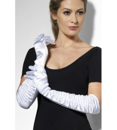 Temptress Gloves, White