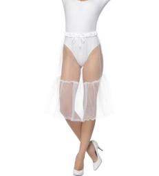 Bavarian Dirndl Petticoat, White