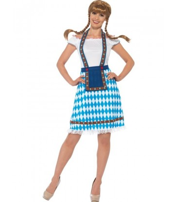 Bavarian Maid Costume2