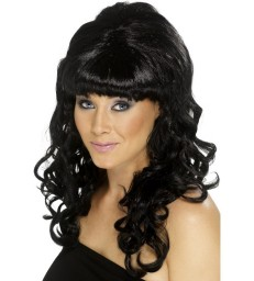 Beehive Beauty Wig, Black