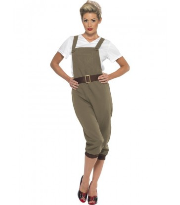 WW2 Land Girl Costume3