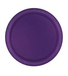 20 DEEP PURPLE 7'' PLATES