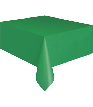 EMERALD GREEN TABLECOVER 54X108 IN